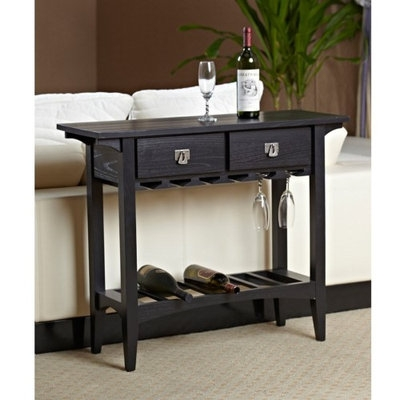 Leick Favorite Finds Mission Wine Stand in Slate