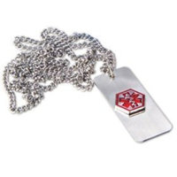 Health Enterprises Medical Emergency Necklace -