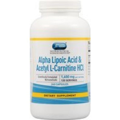 Vitacost Brand Vitacost Alpha Lipoic Acid & Acetyl L-Carnitine HCl -- 1,600 mg per serving - 240 Capsules