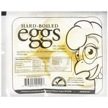 Ccf Brands Great Day Farms Hard Boiled Eggs, Half Dozen