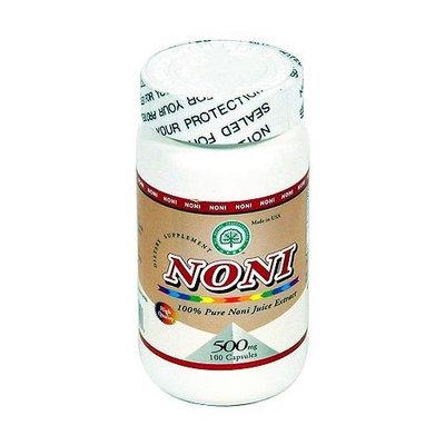 All Nature 100% Pure Noni Capsules, 500mg 100 Capsules