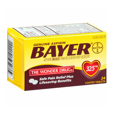 Bayer Aspirin Coated Tablets
