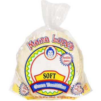 Mama Lupe's GROUND CORN COOKED WITH WATER-LIME, SODIUM PROPIONATE (TO PRESERVE FRESHNESS), GUAR GUM, CELLULOSE GUM, BENZOIC ACID, PHOSPHORIC ACID AND ENZYMES (TO PRESERVE FRESHNESS).