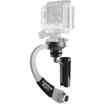 Steadicam Curve Compact Video Camera Stabilizer for GoPro (Silver)