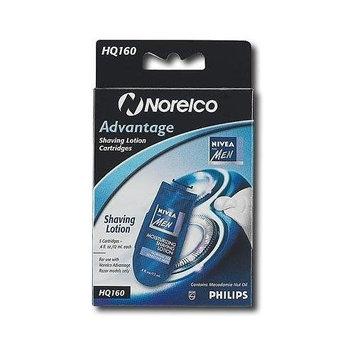 Norelco HQ160/HQ170 Nivea LOTION for Advantage razors.