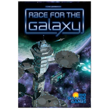 Rio Grande Games Race for the Galaxy Ages 12+, 1 ea
