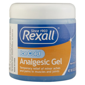 Rexall Ice Cold Analgesic Gel, 8 oz
