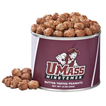 Virginia Diner University of Massachusetts, Butter Toffee Peanuts, 10-Ounce (Pack of 4)
