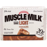 Muscle Milk Light 8.25-Ounce Chocolate 24-Count