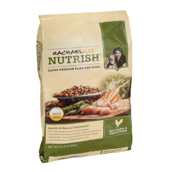 Rachael Ray Nutrish Dog Food Real Chicken & Veggies Recipe