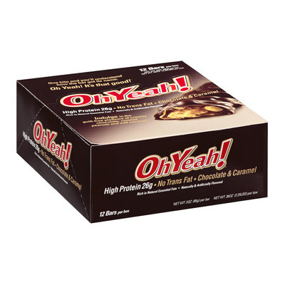 OhYeah! Chocolate & Caramel Bars