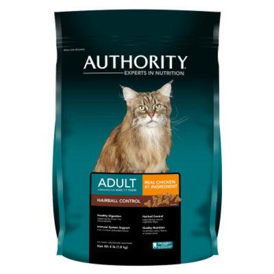 AuthorityA Hairball Control Adult Cat Food
