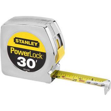 Stanley 30 ft. x 1 in. Tape Rule PowerLock