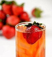 Davidson's Tea Davidson Organic Tea 4225 Fdsvc Brewed Decaffeinated Wild Strawberry Tea 3 Oz.