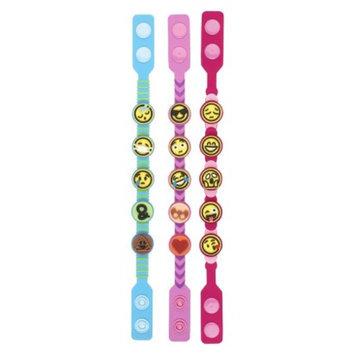 Maya Group, The Emoji Icons Bands 3pk-Pink, Blue, Purple