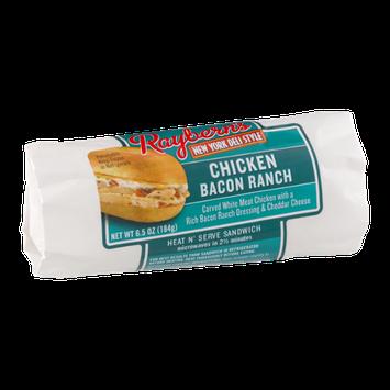 Raybern's New York Deli Style Heat N' Serve Sandwich Chicken Bacon Ranch