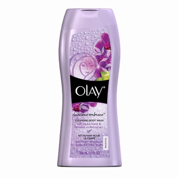 Olay Luscious Embrace Cleansing Body Wash, 12 fl oz