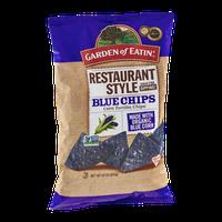 Garden of Eatin' Corn Tortilla Chips Restaurant Style Blue Chips