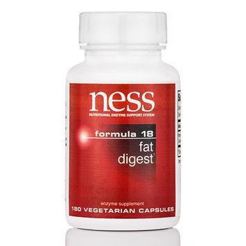 Ness Enzyme's Fat Digest #18 180 caps by Ness Enzymes