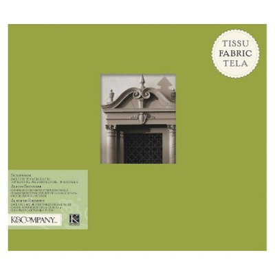 K&Company Fabric Scrapbook Green 8.5X8.5