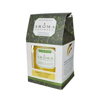Aroma Naturals Pillars 3 x 3.5 in - Ambiance Orange Lemongrass by Aroma Naturals