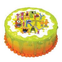 Luck's Lucks Edible Image Monster Birthday, 1 ea