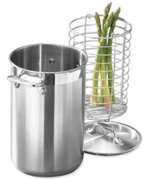 All Clad All-Clad Stainless Steel Covered Asparagus Pot With Basket