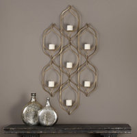 Uttermost 04049 Rovena Seven Candle Wall Sconce