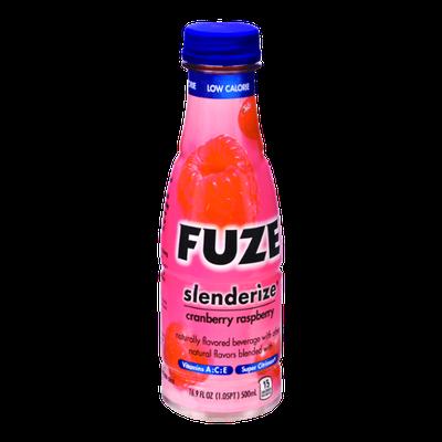 Fuze Slenderize Cranberry Raspberry Flavored Beverage
