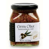 Elki's Gourmet Green Olive Tapenade, 10 Ounce