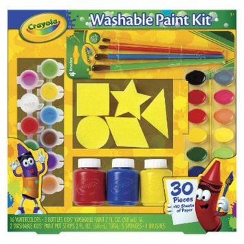 Crayola Washable Paint Kit