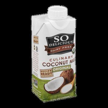 So Delicious Dairy Free Culinary Coconut Milk Original