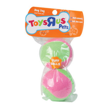 Toys R Us Tuff Balls Dog Toy