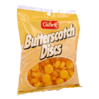 Giant Butterscotch Discs