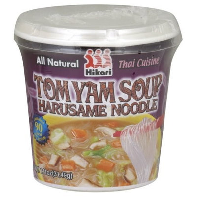 Hikari Miso Soup Harusame Tomato Yam, 1.11-Ounce (Pack of 12)