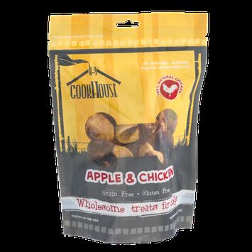K-9 Cookhouse Gluten and Grain Free Dog Treats Apple & Chicken