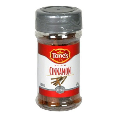Tone's Tones Cinnamon Stick, 1-Ounce (Pack of 6)