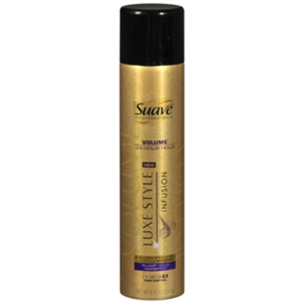 Suave Volume Plump Non-Aerosol Hairspray, 8.5 oz