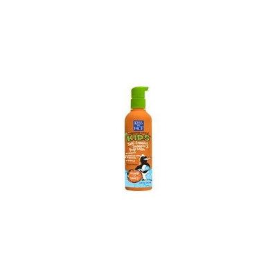 Kiss My Face Kids Self Foaming Shampoo & Body Wash, Orange U Smart, 8-Ounce Bottles