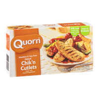 Quorn Naked Chik'n Cutlets Meatless & Soy-Free