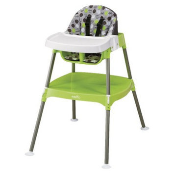 Evenflo Convertible High Chair - Dottie Lime