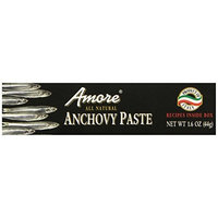 Amore Anchovy Paste, 1.6 Ounce Tubes (Pack of 12)