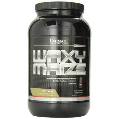 Ultimate Nutrition Waxy Maize, Natural, 3 Pound