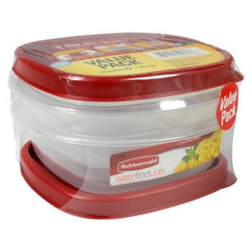 Rubbermaid Food Storage Container Value Pack 1.25 cups