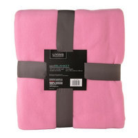 Living Solutions Fleece Blanket 60 x 90 Pattern may Vary