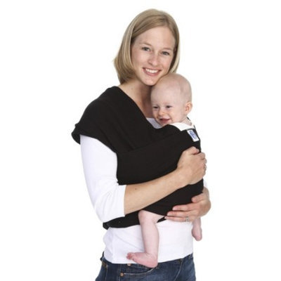 Moby Wrap Baby Carrier- Black by
