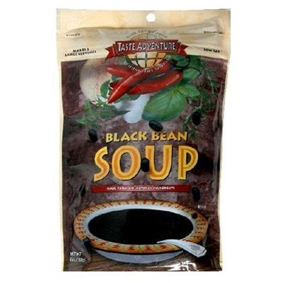 Taste Adventure Soup, Black Bean, 4.6-Ounce Cartons (Pack of 6)