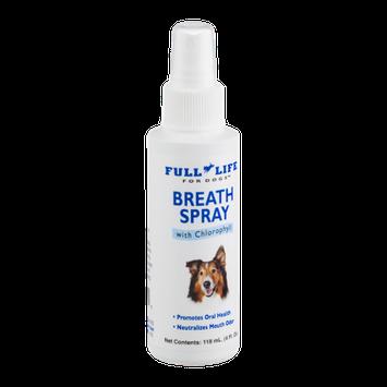Full Life For Dogs Breath Spray