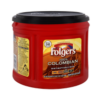 Folgers 100% Colombian Med-Dark Roast Ground Coffee