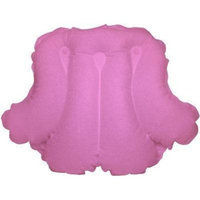 Deluxe Comfort Terry Bath Pillow-Pomegranate